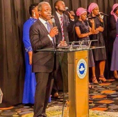 Until Pastor Yemi Osinbajo is suspended, I am never stepping foot into any Redeem Christian Church of God - Nigerian man says