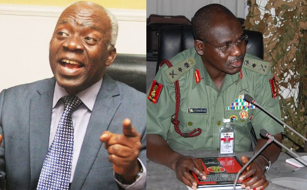 We are compiling evidences to ensure trial of COAS Tukur Buratai before the International Criminal Court - Femi Falana (video)