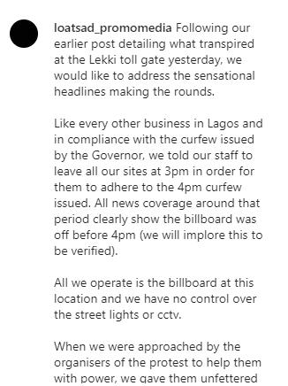 We have no control over the street lights or CCTV - Seyi Tinubu
