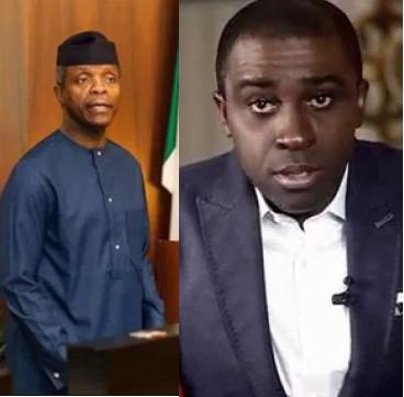Frank Edoho calls Yemi Osinbajo a