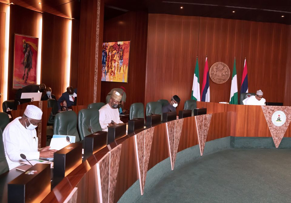 President Buhari presides over National Security Council meeting (photos)