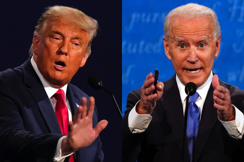 US Election 2020: Watch Trump and Biden clash over Covid-19, corruption, climate and racism (videos)