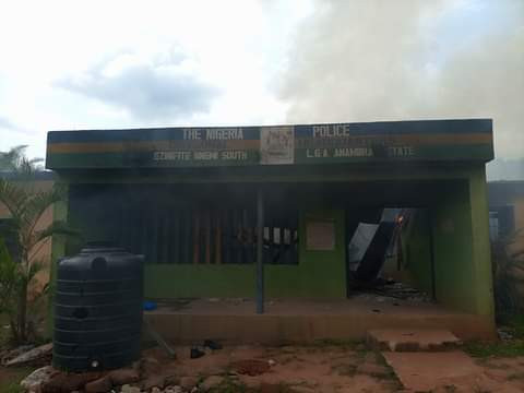 Nnewi South: DPO reportedly killed, police officers injured as hoodlums attack police stations in Anambra