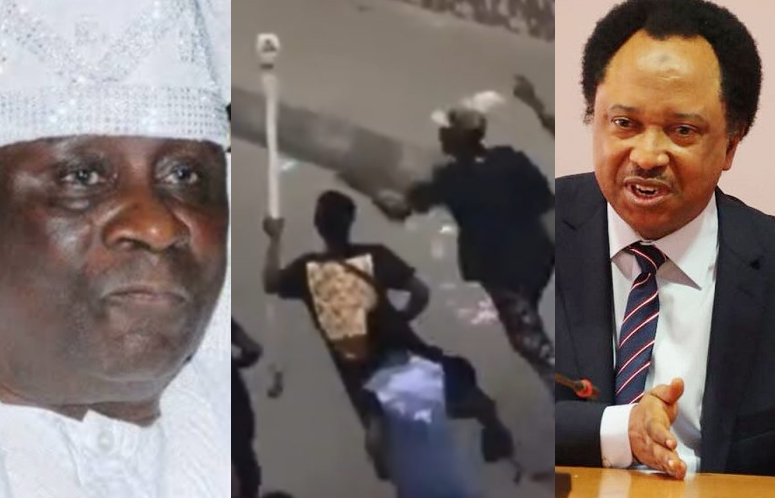 """Whoever carted away the staff of the Oba of Lagos and his shoe should please respect the throne and return it"" - Senator Shehu Sani"