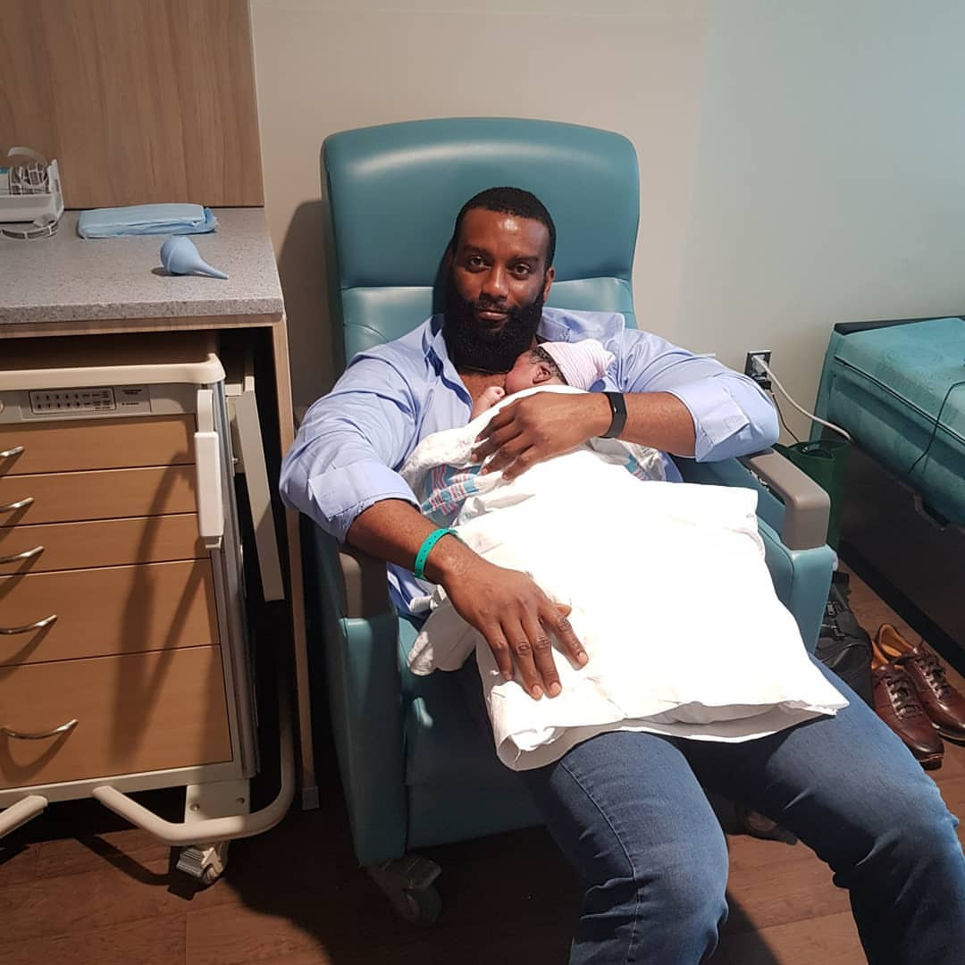 Dominic Mudabai, Ex-Gulder Ultimate Search winner and wife welcome baby boy