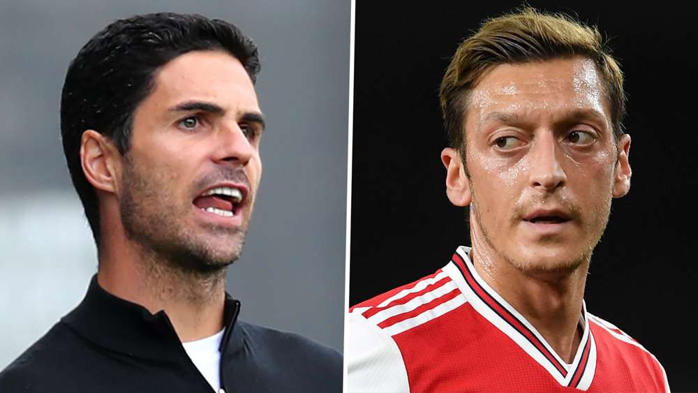 Mesut Ozil?s agent slams Mikel Arteta after the ?350,000 per week midfielder was omitted from premier league squad list for the season