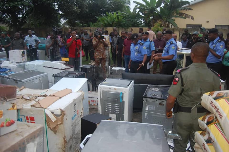 #EndSARS: Akwa Ibom Police arrest 10 suspects, recover looted properties worth millions of Naira