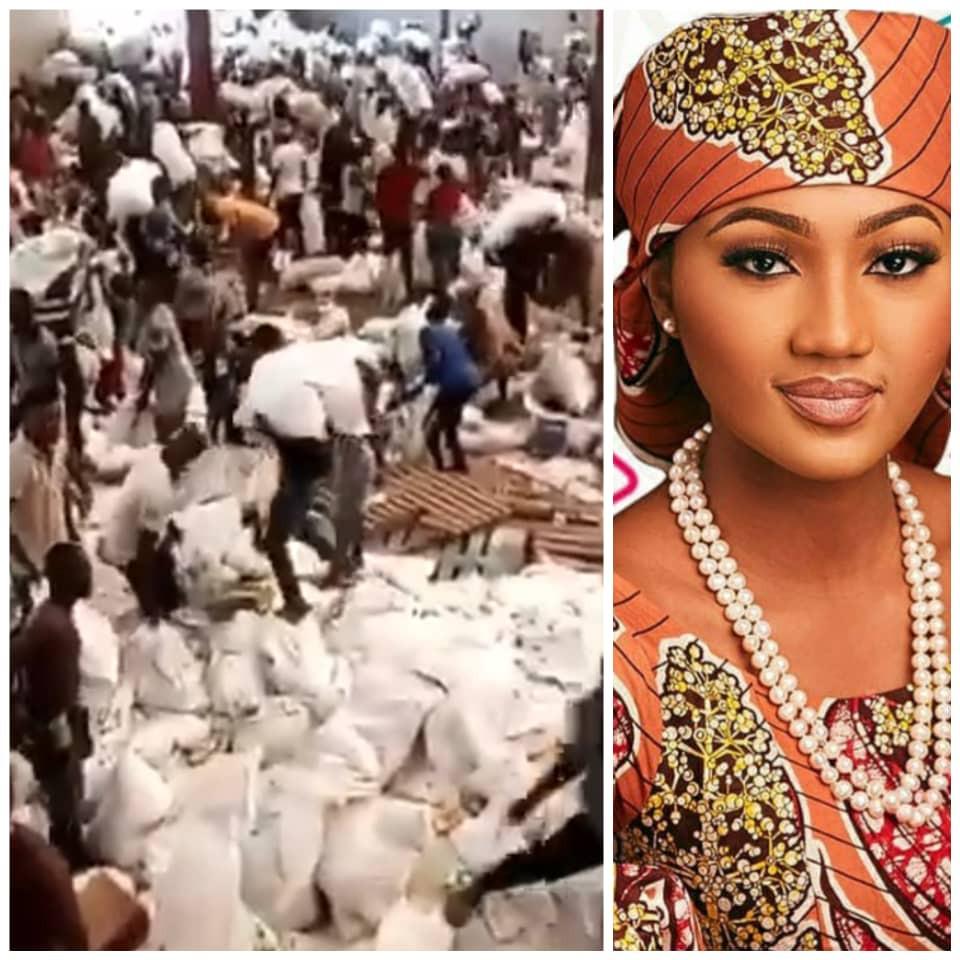 COVID19 Palliatives: Zahra Buhari reshares a post stating that President Buhari is not Nigeria