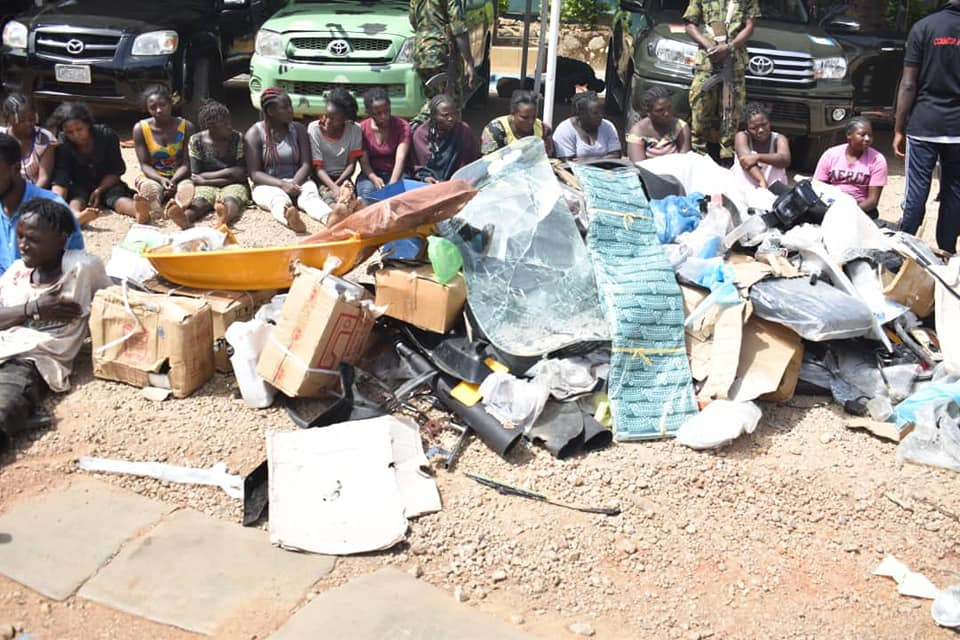 Operation Safe Haven arrest 30 looters, recovers stolen items