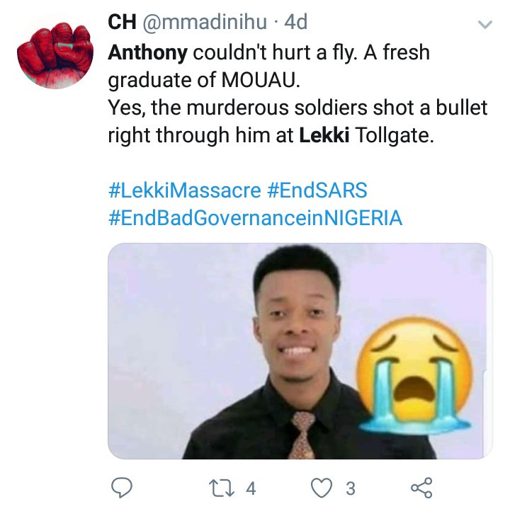 Mum whose son died in the Lekki shootings speaks up to counter claims no one died during the #ENDSARS protests (video)