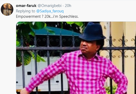 Nigerians react after Minister of Humanitarian Affairs announced plans to empower 700 women with N20,000 grant