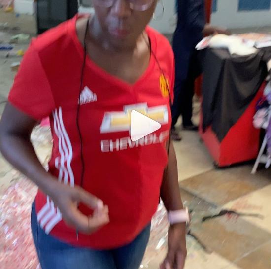 The destruction to economic assets in this singular mall alone is disheartening - Entrepreneur Tara Durotoye says she visits her vandalized store lindaikejisblog