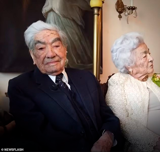 World's oldest husband dies at 110 years leaving behind 104-year-old widow