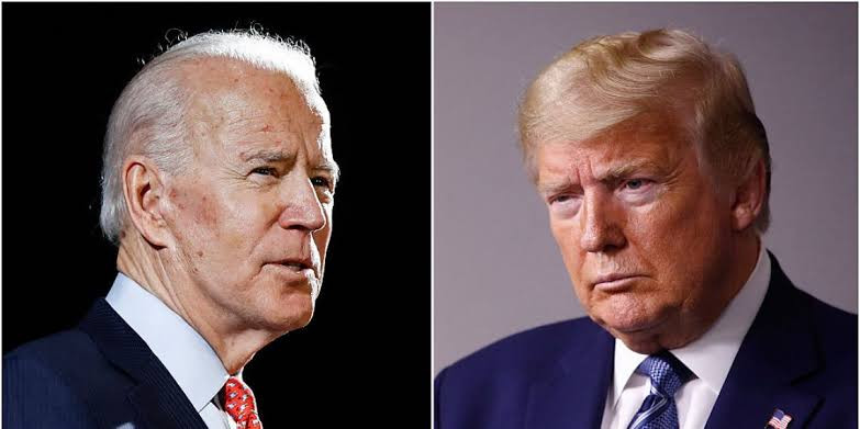 US 2020: Trump reacts after Joe Biden mistakenly refers to him as