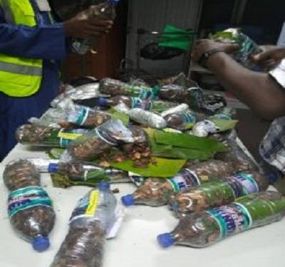 NDLEA nabs Cyprus-bound student with 13.55 kg of Cannabis
