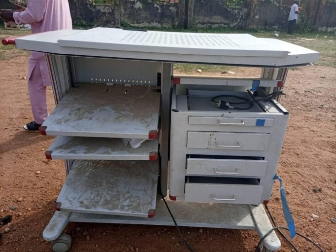 Pastor arrested with looted medical equipment worth N1.2bn lindaikejisblog 1