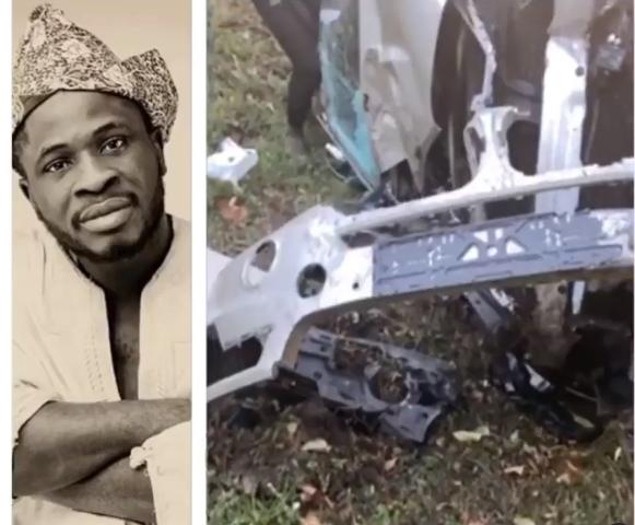 Comedian Craze Clown survives ghastly car accident (video)