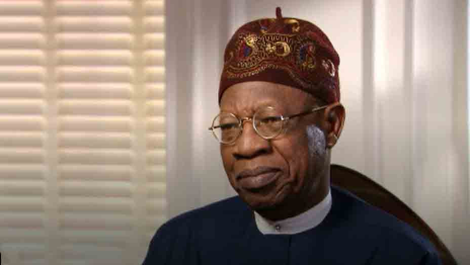 #EndSARS: We must regulate social media before it destroys us ? Lai Mohammed