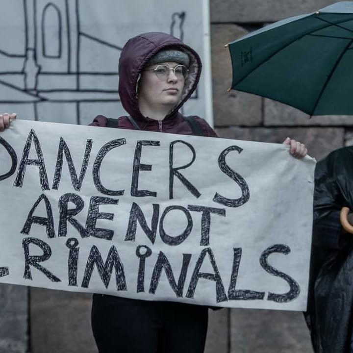 End SARS protest holds in Helsinki (photos)