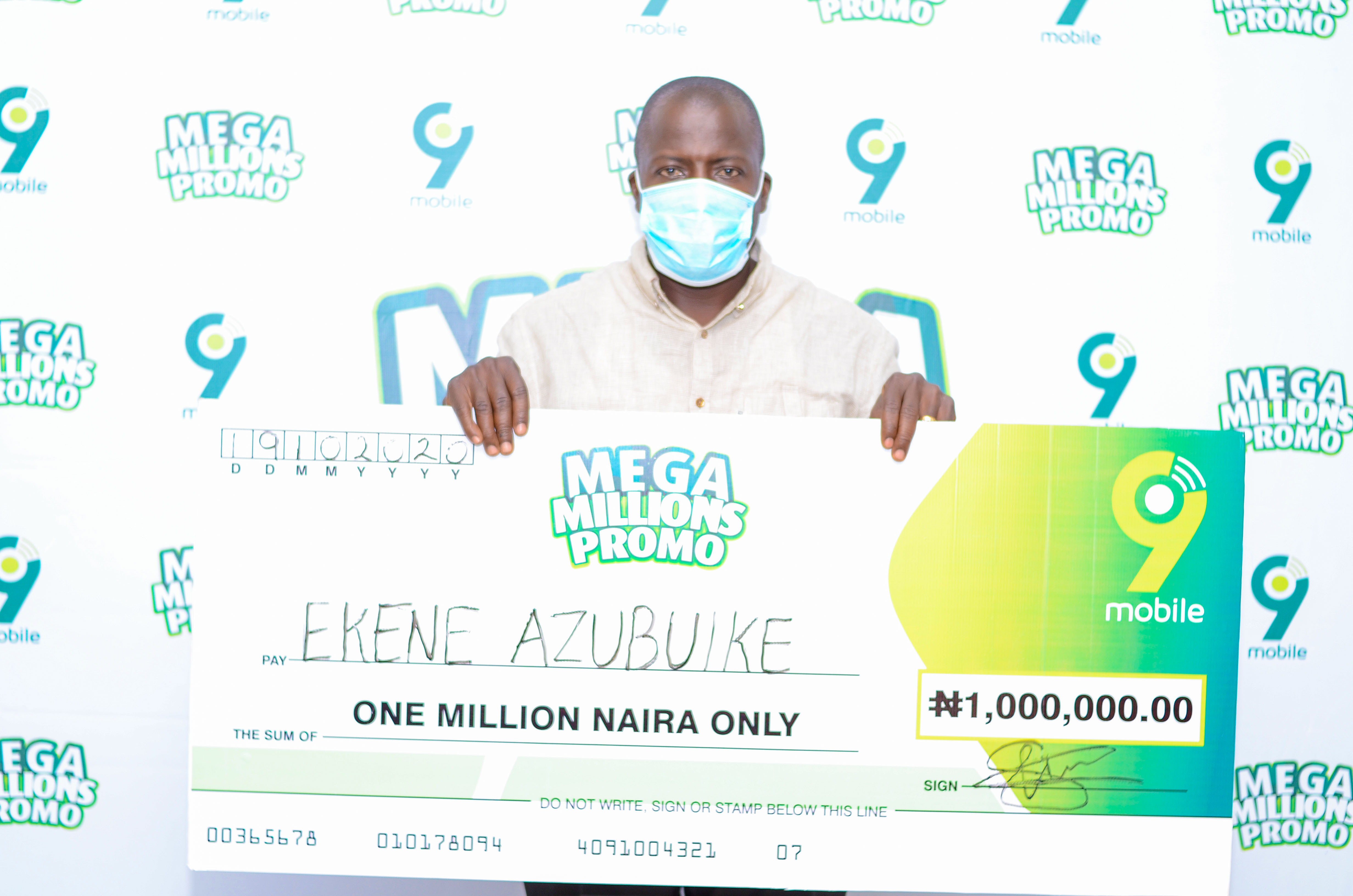 Business Owners Receive Huge Financial Boost with winnings from 9mobile Mega Millions Promo
