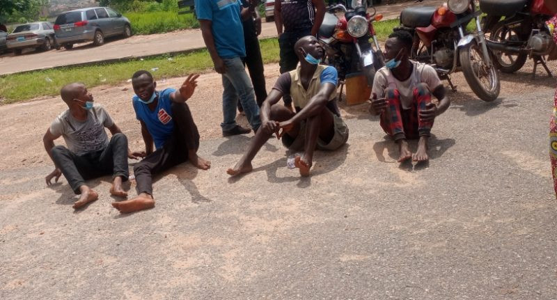 Oyo Police parade nine suspects over attack on Iseyin police station