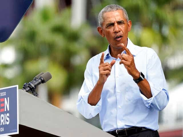 US 2020: Barack Obama to join Joe Biden on campaign trail for final weekend push before election