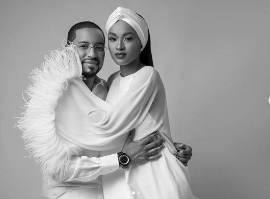Hanan Buhari shares loved up photos with her husband, Turad