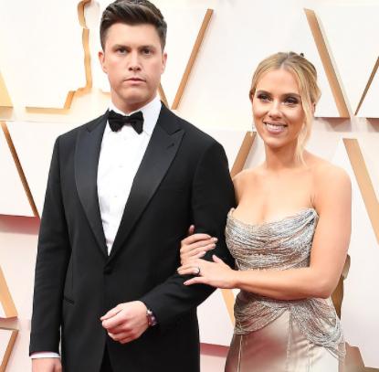 Scarlett Johansson, 35, and Colin Jost, 38, wed in secret ceremony