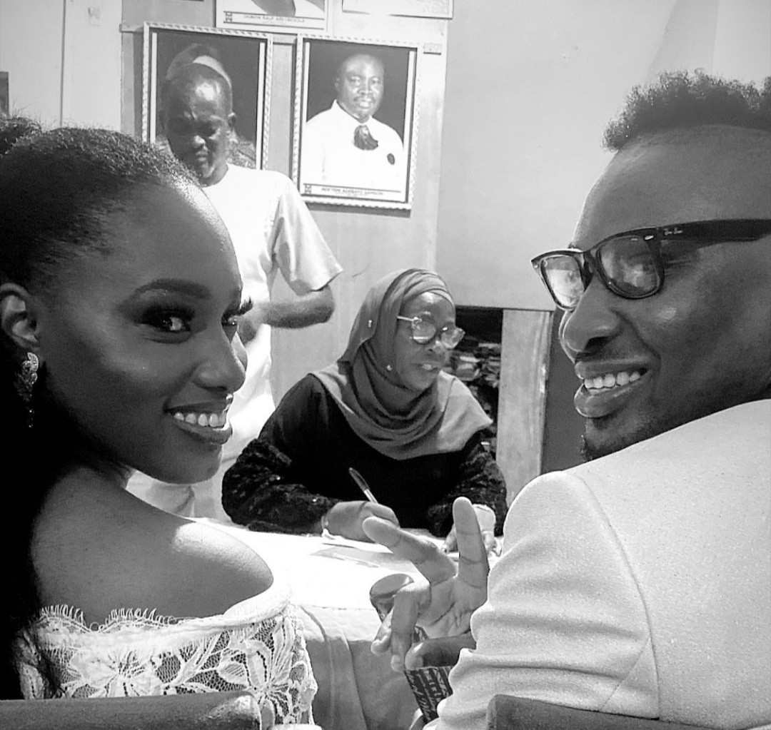 Rapper Pepenazi ties the knot with his girlfriend, Janine (photos)