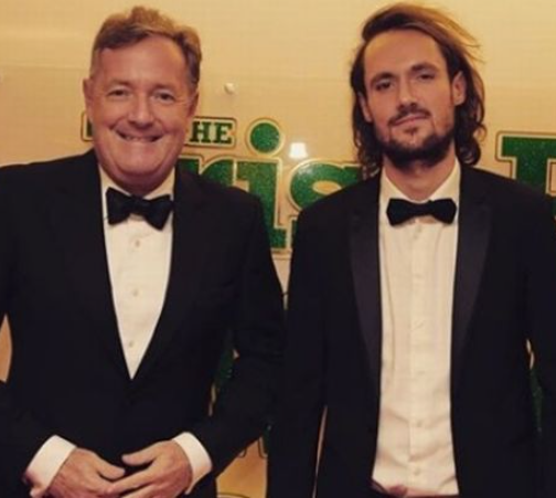 Piers Morgan and his son clash on Twitter