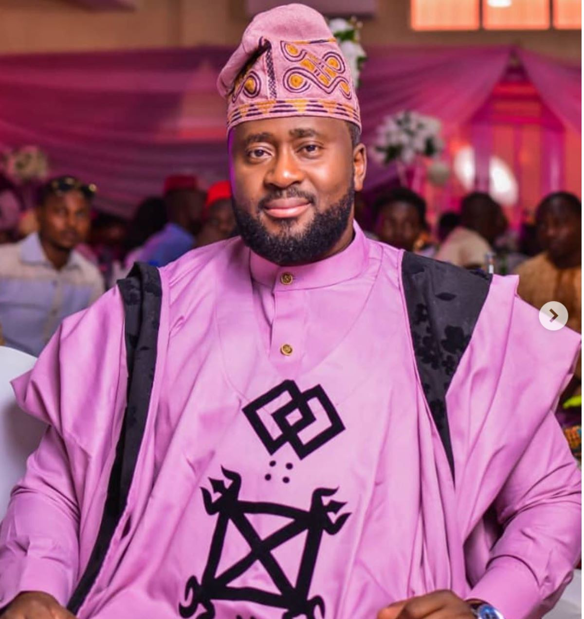 Desmond Elliot turns off the comment section of his Instagram handle
