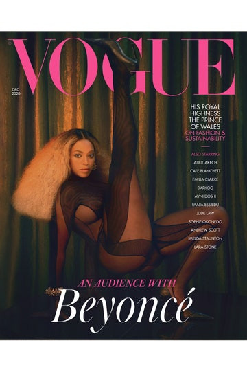 Beyonc? covers December issue of British Vogue (photos)
