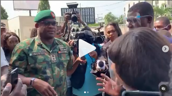 Lekki shootings: Military morgue is undergoing renovation ? Officials (videos )