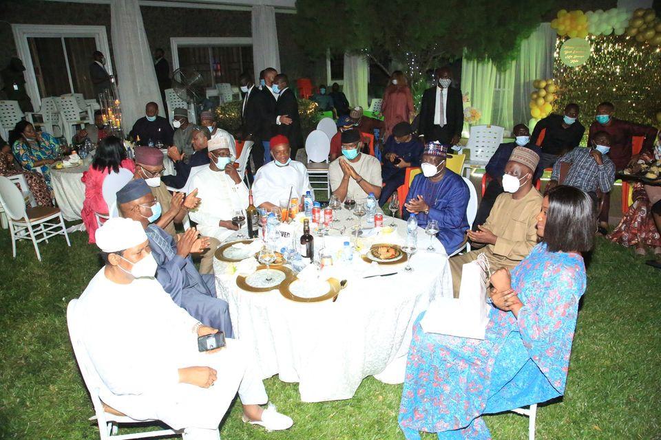Photos from the birthday party of Senator Orji Uzor Kalu
