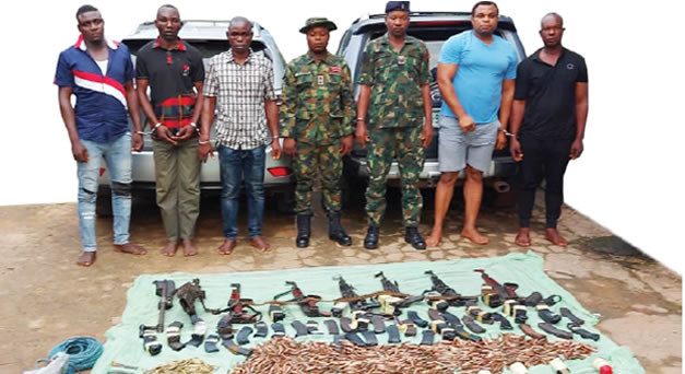 Our leader coordinated operations from prison ? Former soldiers and others arrested for Ebonyi bullion van robbery attack confess