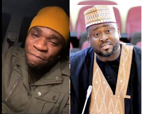 """I will swallow you"" - Speed Darlington comes for Desmond Elliot over his comments about social media?(video)"