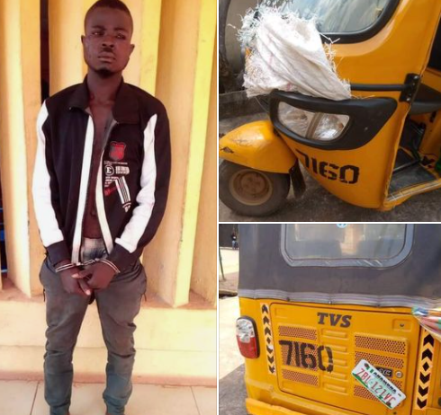 Armed robbery suspect arrested in Anambra (photos)