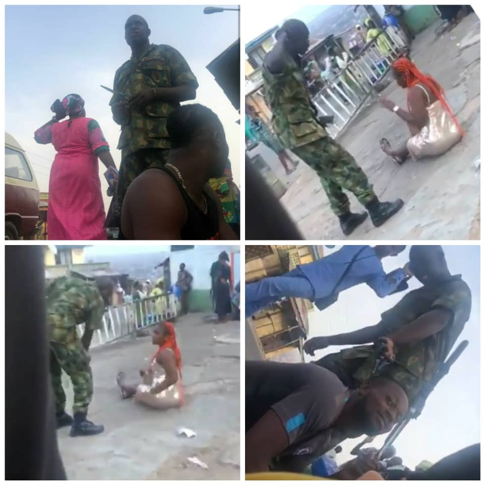 Soldiers in viral videos assaulting residents of Oyo state have been arrested