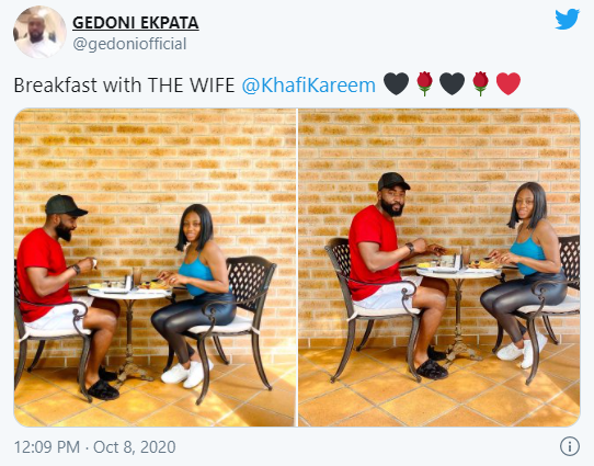 Khafi and Gedoni flaunt their