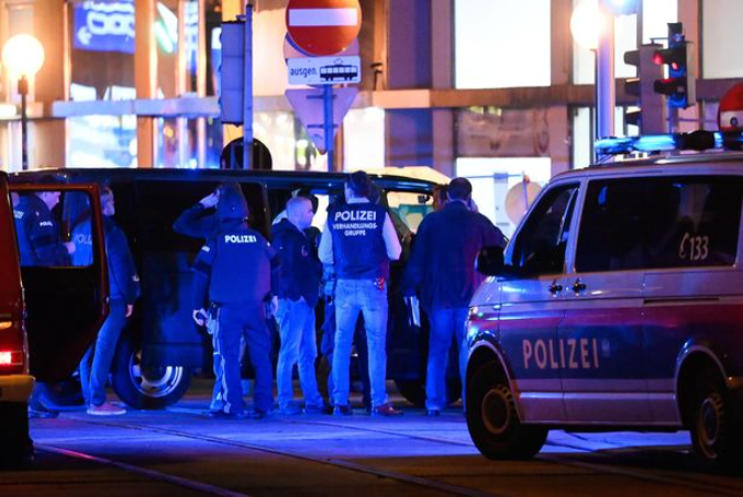 Vienna terror attack: At least one dead and several others injured in shootings across Austria capital (video)