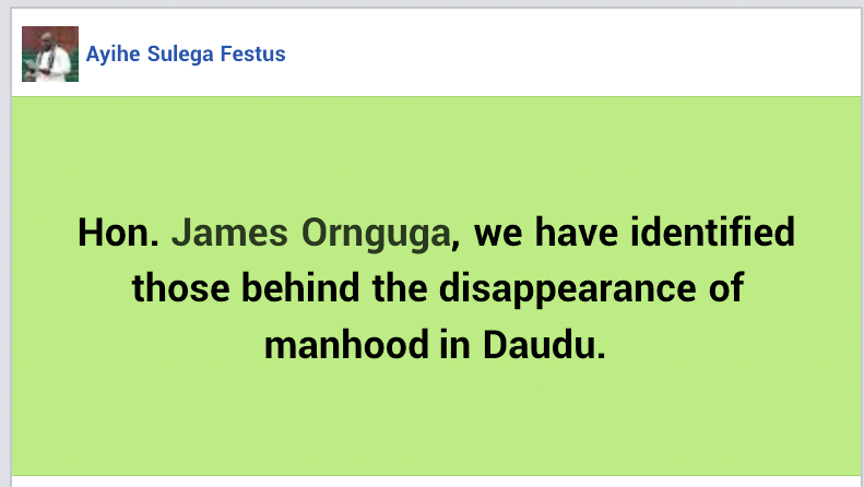 """Angry youths set ablaze church belonging to a prophet accused of masterminding alleged """"disappearance of manhood"""" in Benue community"""