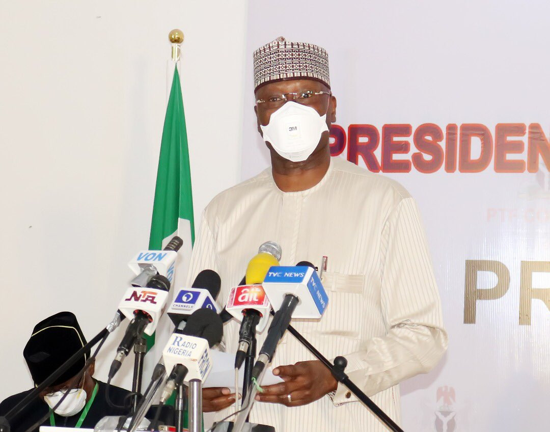 Expect massive COVID-19 infections in two weeks ? SGF Boss Mustapha
