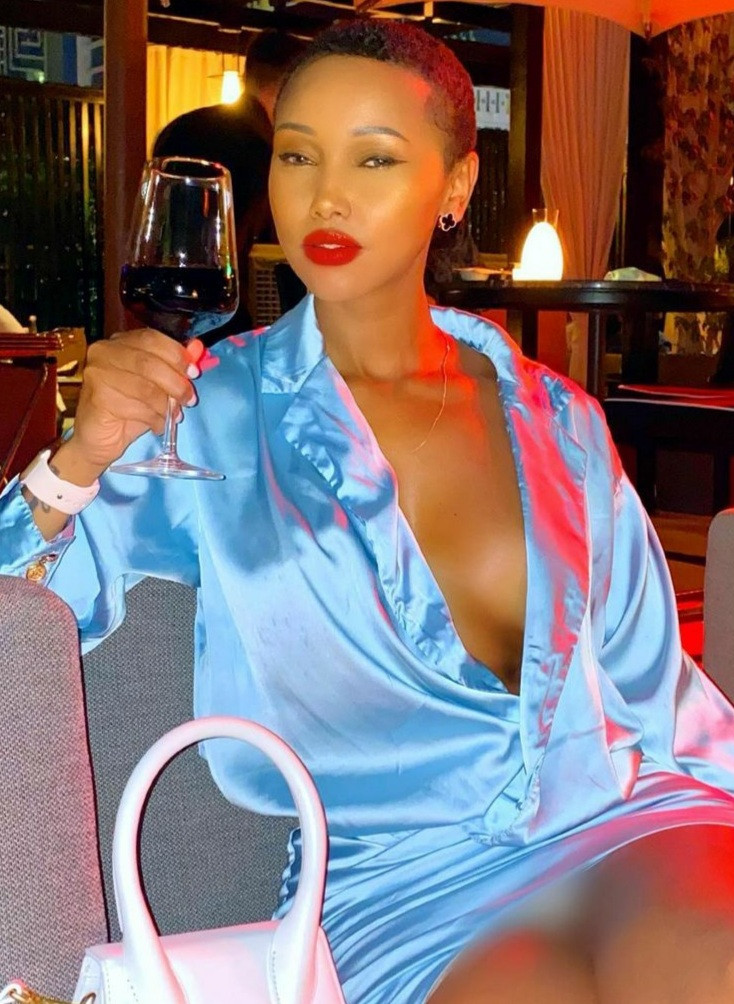 It can?t be the same God in Africa and the rest of the world - Kenyan socialite, Huddah Monroe says