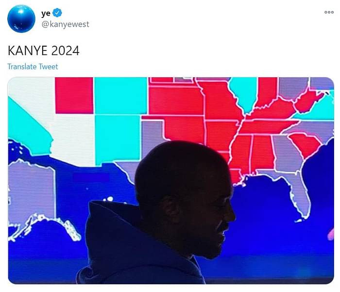 Kanye West concedes defeat in US presidential election
