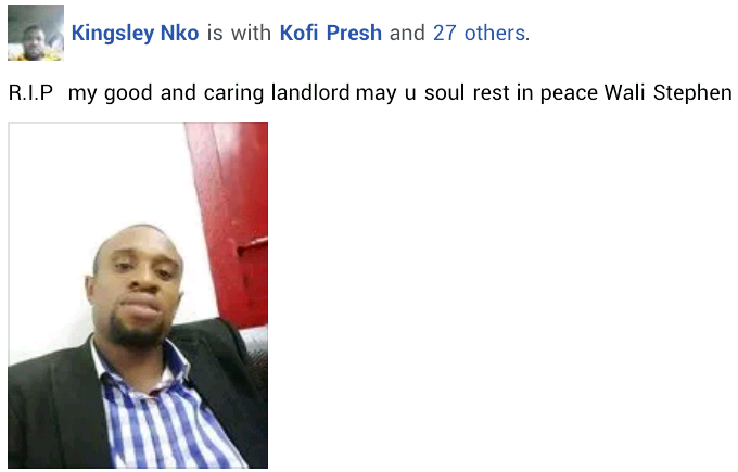 """""""May your killers never find rest till eternity"""" - Friends mourn 28-year-old Nigerian man who died a week to his wedding"""