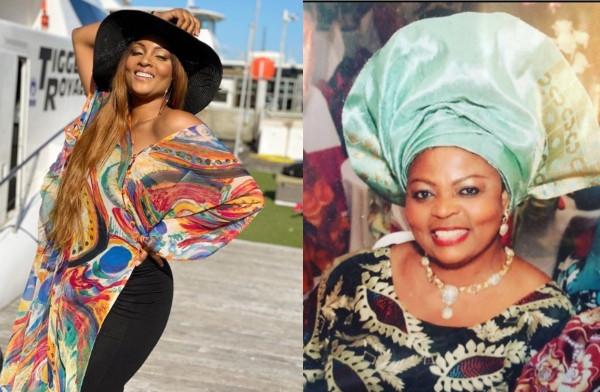 Actress Osas Ighodaro loses mother