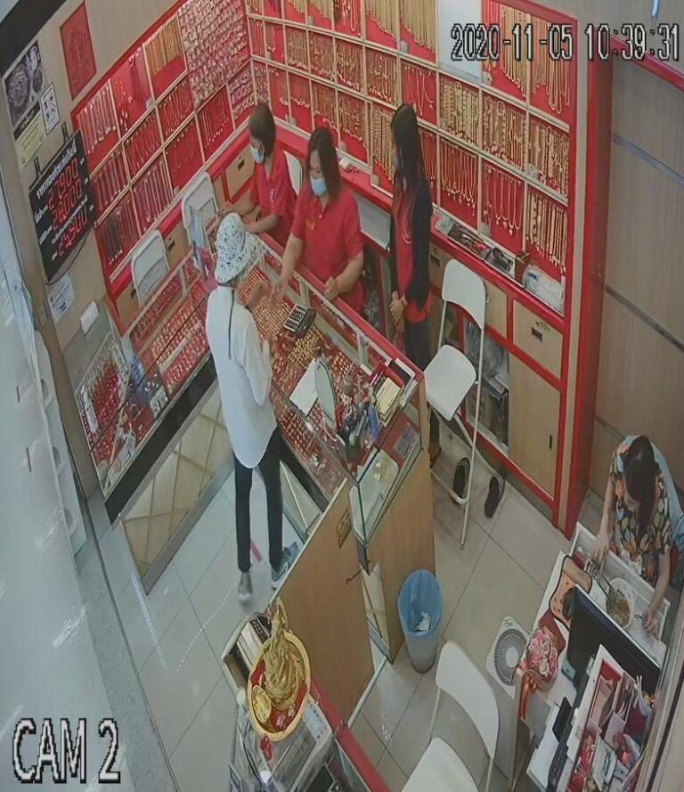 Jewelry thief arrested after he accidentally dropped his ID card in gold shop