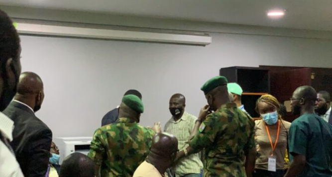 Soldiers were attacked at Lekki tollgate but we still offered water and drinks  to protesters - Army Commander