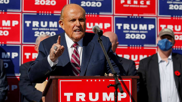Trump lawyer Rudy Giuliani says president won't concede until legal options are exhausted