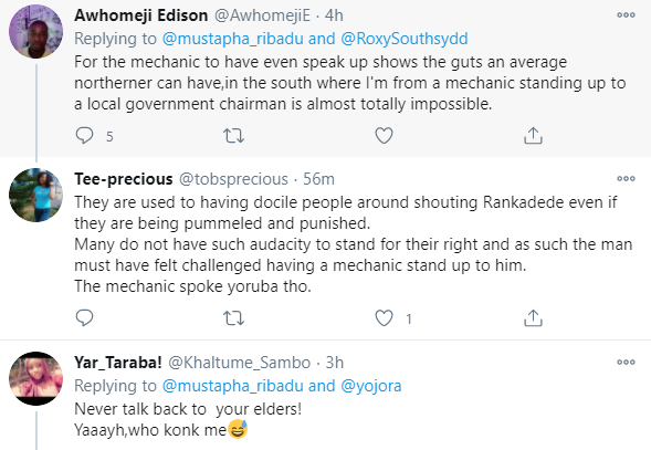 Outrage as video of a local government chairman in Adamawa assaulting a mechanic surfaces online